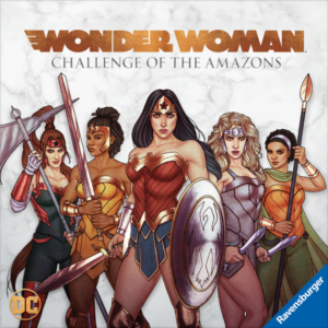 Wonder Woman Challenge of the Amazons review - cover