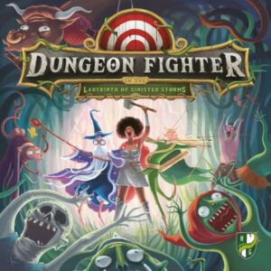 Dungeon Fighter in the Labyrinth of Sinister Storms cover