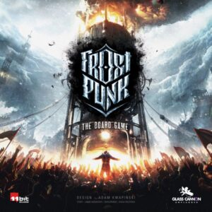 Frostpunk The Board Game cover