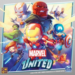 Marvel United review - cover