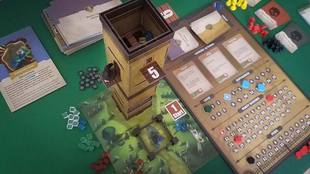The Stygian Society review - cube tower