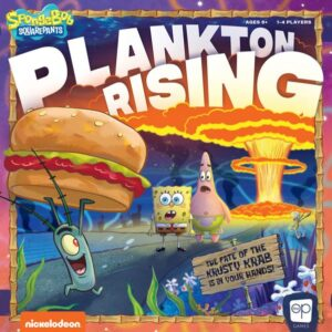 SpongeBob SquarePants Plankton Rising review - cover