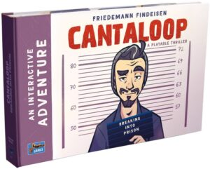 Cantaloop Book 1 – Breaking into Prison review - cover