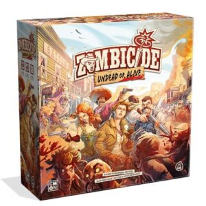 Zombicide Undead or Alive cover