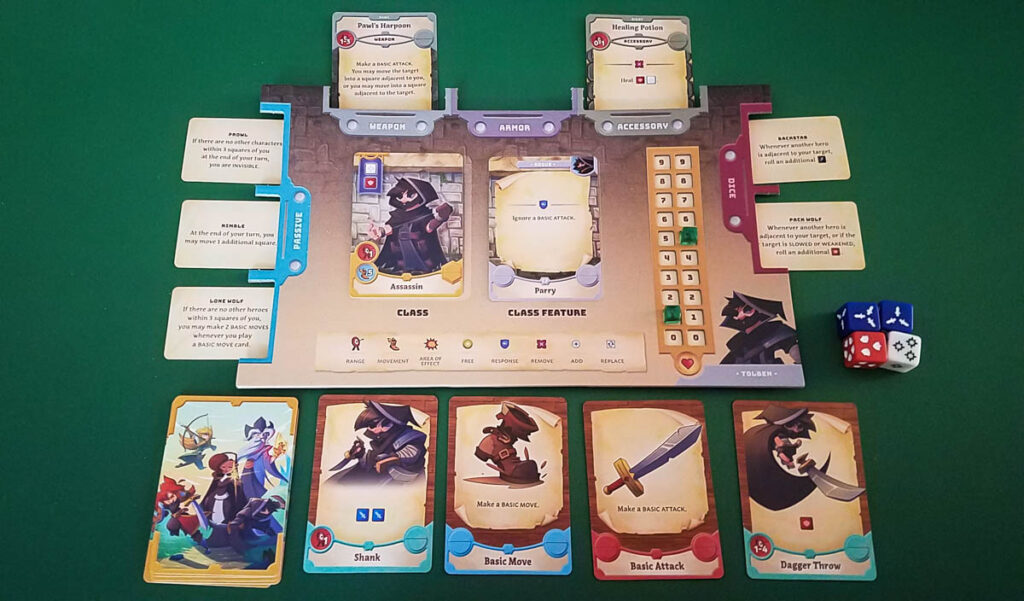 Adventure Tactics Domianne's Tower review - player area